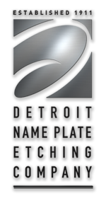 Detroit Name Plate Etching Company Photo