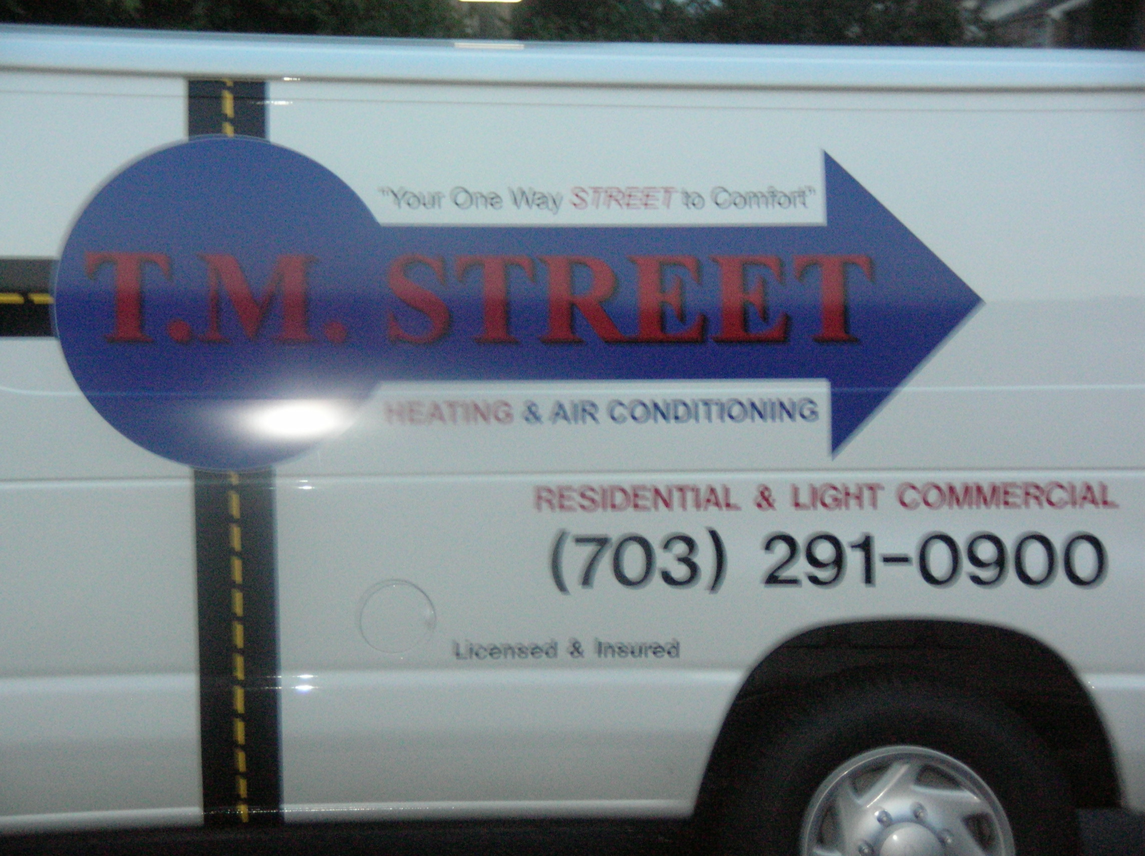 T.M. Street Heating and Air Conditioning Photo