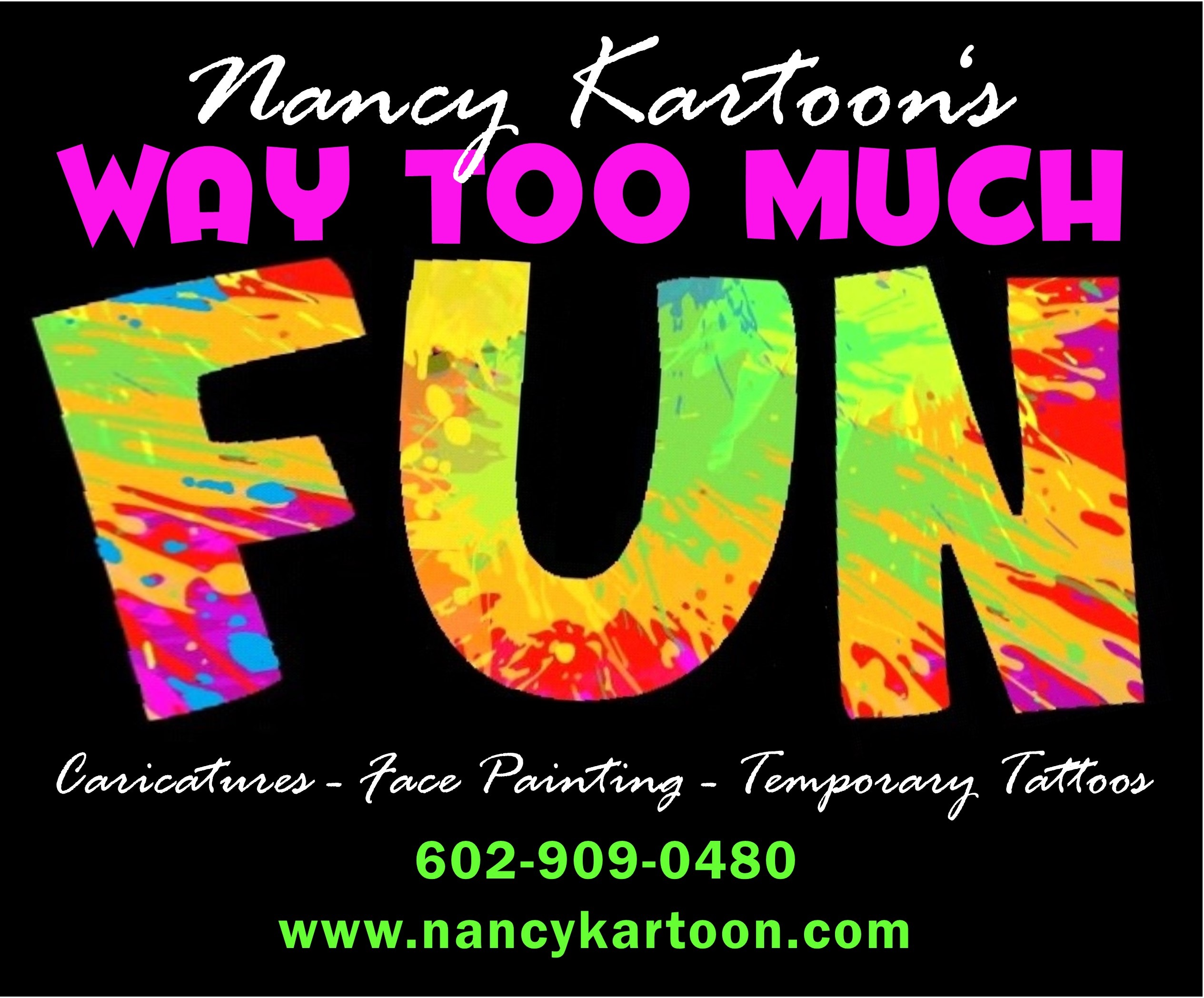 NANCY KARTOON - Fantastic Face Artist Photo