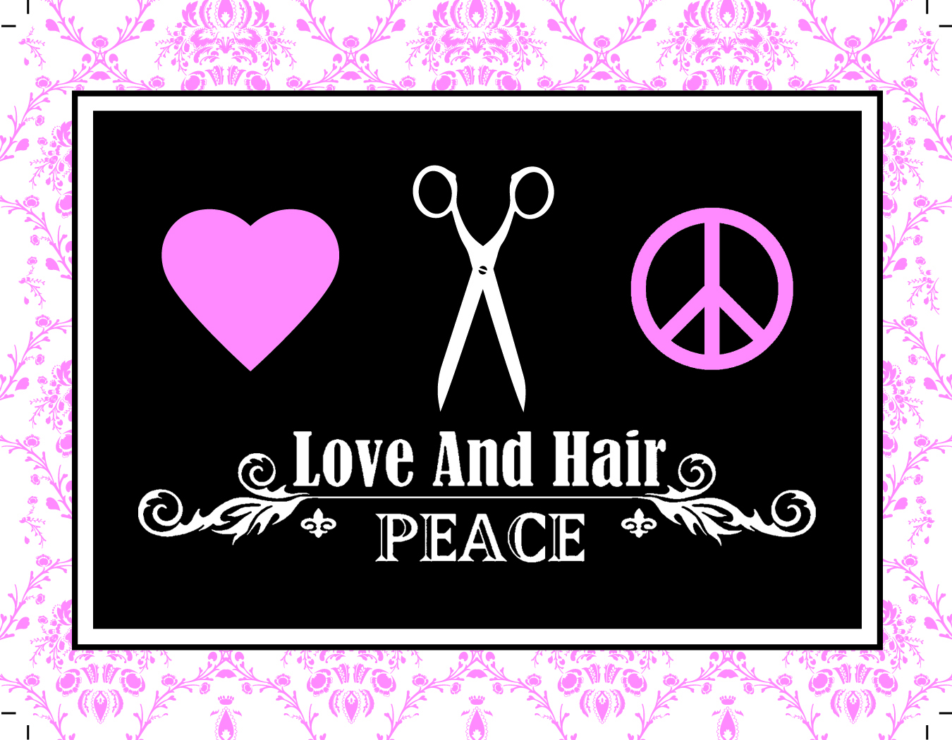 Love and Hair Peace Photo