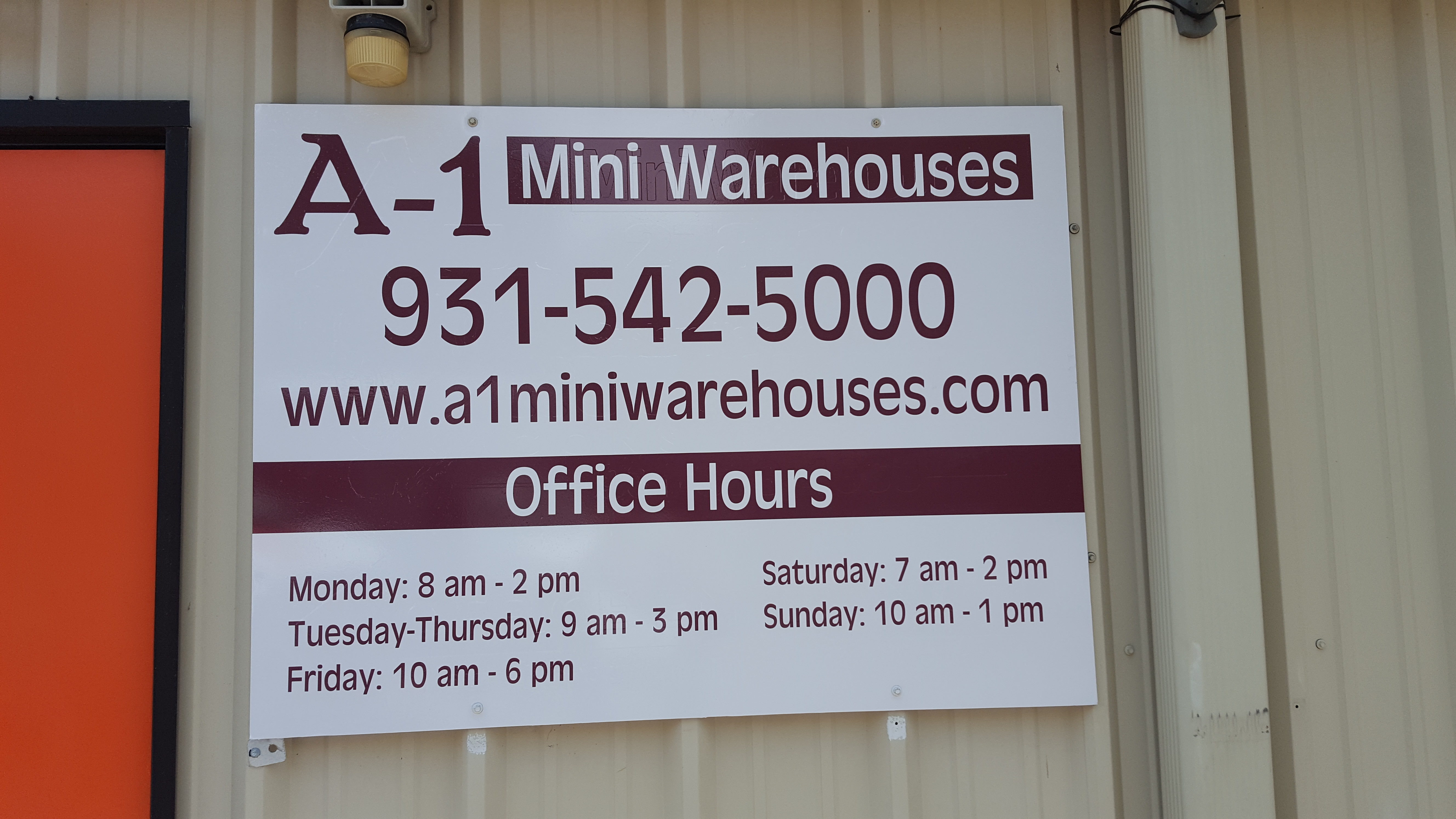 a1miniwarehouses.com Photo