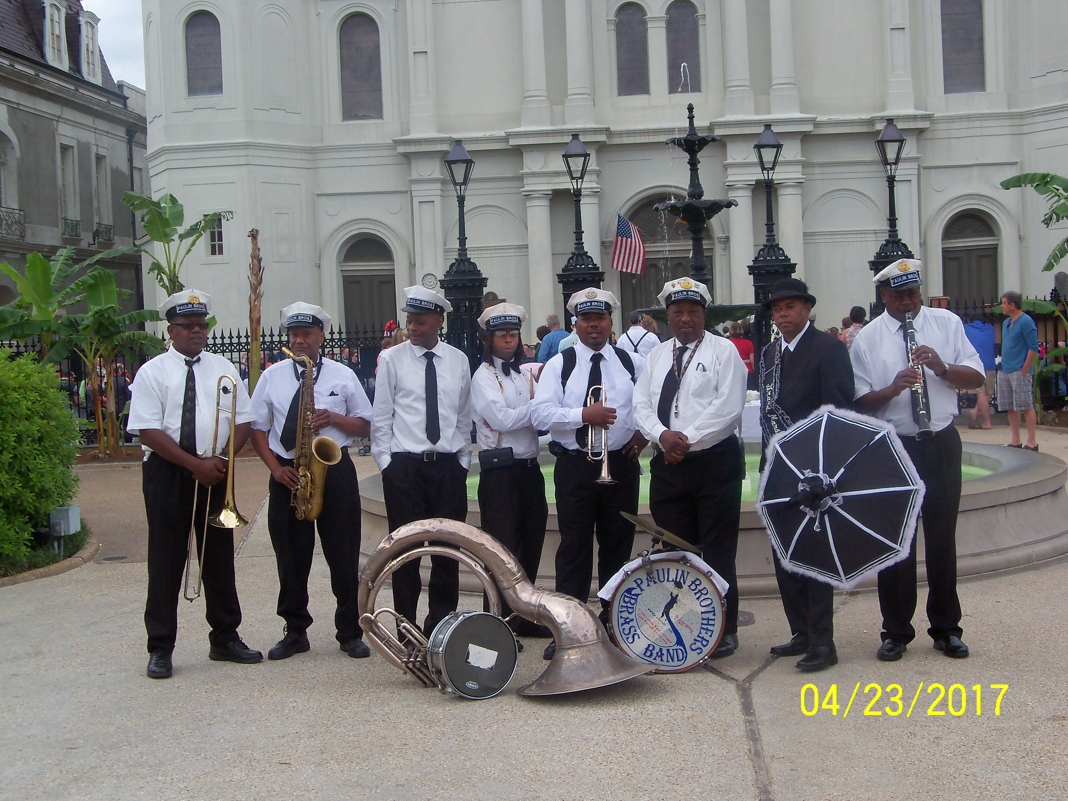 The Paulin Brothers Brass Band Photo