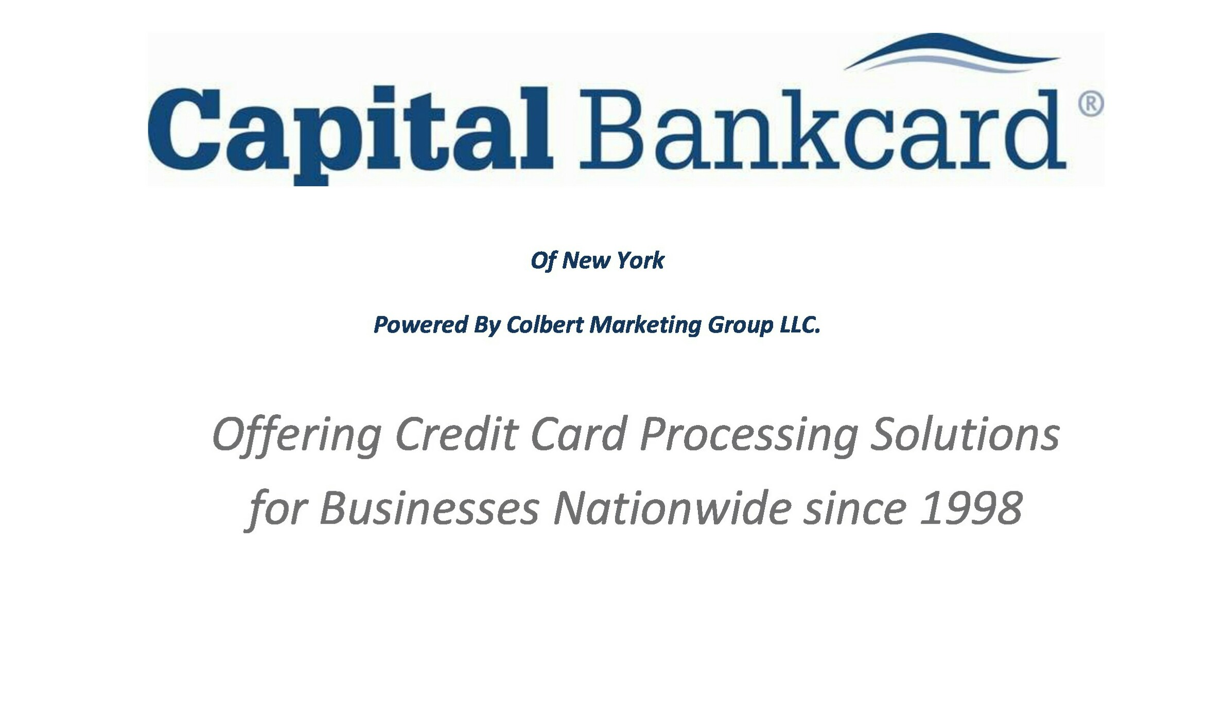 Capital Bankcard Of New York Photo