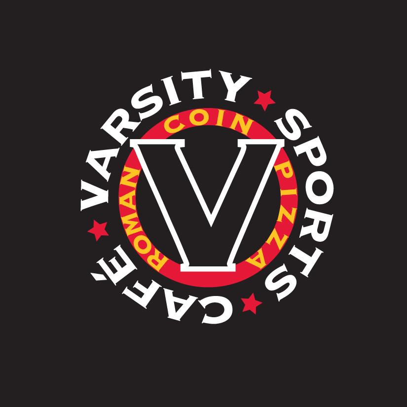 Varsity Sports Cafe and Roman Coin Pizza Photo